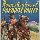 Red Ryder : Homesteaders Of Paradise Valley (1947) - Allan Lane  DVD