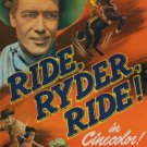 Red Ryder : Ride, Ryder, Ride (1949) - Jim Bannon  DVD