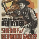 Red Ryder : Sheriff Of Redwood Valley (1946) - Bill Elliott  DVD