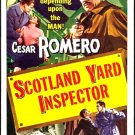 Scotland Yard Inspector AKA Lady In The Fog (1952) - Cesar Romero  DVD