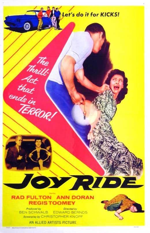Joy Ride (1958) - Regis Toomey  DVD