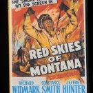 Red Skies Of Montana (1952) - Richard Widmark  DVD