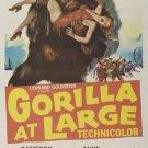 Gorilla At Large (1954) - Cameron Mitchell  DVD