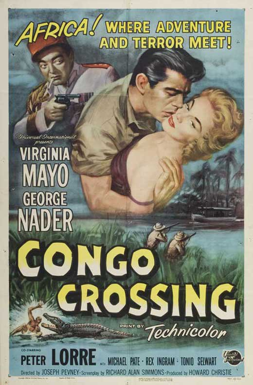 Congo Crossing (1956) - Peter Lorre  DVD