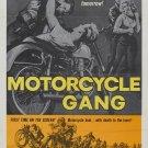 Motorycle Gang (1957) - Steven Terrell  DVD