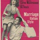 Marriage Italian Style (1964) - Sophia Loren  DVD