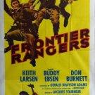 Frontier Rangers (1959) - Keith Larsen  DVD