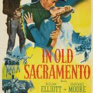 In Old Sacramento (1946) - Bill Elliott  DVD