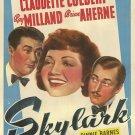 Skylark (1941) - Ray Milland  DVD