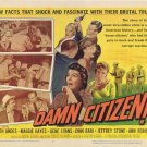 Damn Citizen (1958) - Keith Andes  DVD