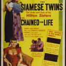 Chained For Life (1952) - Violet & Daisy Hilton  DVD