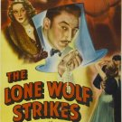 The Lone Wolf Strikes (1940) - Warren William  DVD