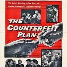 The Counterfeit Plan (1957) - Zachary Scott  DVD
