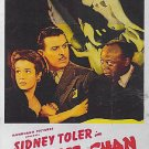 Charlie Chan In The Secret Service (1944) - Sidney Toler  DVD