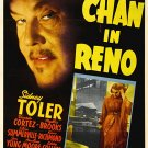 Charlie Chan In Reno (1939) - Sidney Toler  DVD
