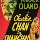 Charlie Chan In Shanghai (1935) - Warner Oland  DVD
