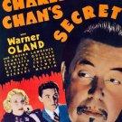 Charlie Chan´s Secret (1936) - Warner Oland  DVD