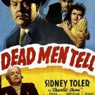 Charlie Chan : Dead Men Tell (1941) - Sidney Toler  DVD