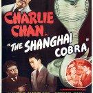Charlie Chan : The Shanghai Cobra (1945) - Sidney Toler  DVD