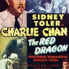 Charlie Chan : The Red Dragon (1945) - Sidney Toler  DVD