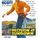Decision At Sundown (1957) - Randolph Scott  DVD