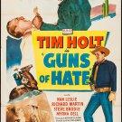 Guns Of Hate (1948) - Tim Holt  DVD