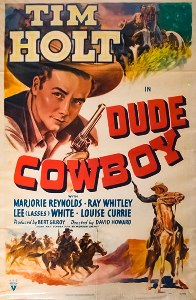 Dude Cowboy (1941) - Tim Holt  DVD