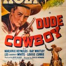 Dude Cowboy (1941) - Tim Holt  DVD