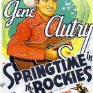 Springtime In The Rockies (1937) - Gene Autry  DVD