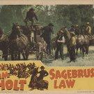 Sagebrush Law (1943) - Tim Holt  DVD