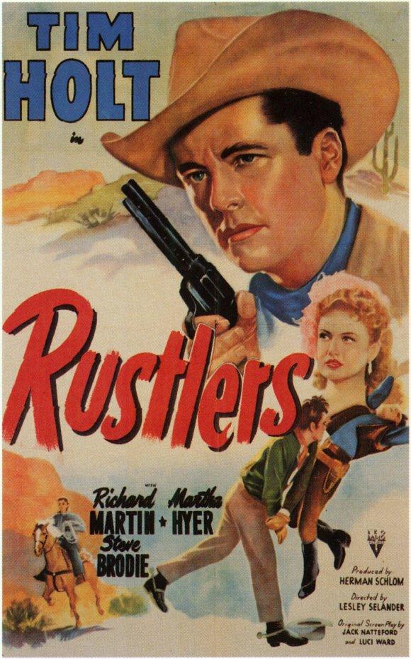 Rustlers (1949) - Tim Holt  DVD