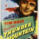 Thunder Mountain (1947) - Tim Holt  DVD