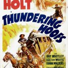Thundering Hoofs (1942) - Tim Holt  DVD