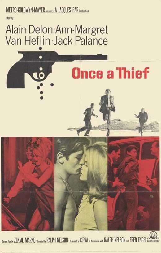 Once A Thief (1965) - Alain Delon  DVD