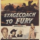 Stagecoach To Fury (1956) - Forrest Tucker  DVD