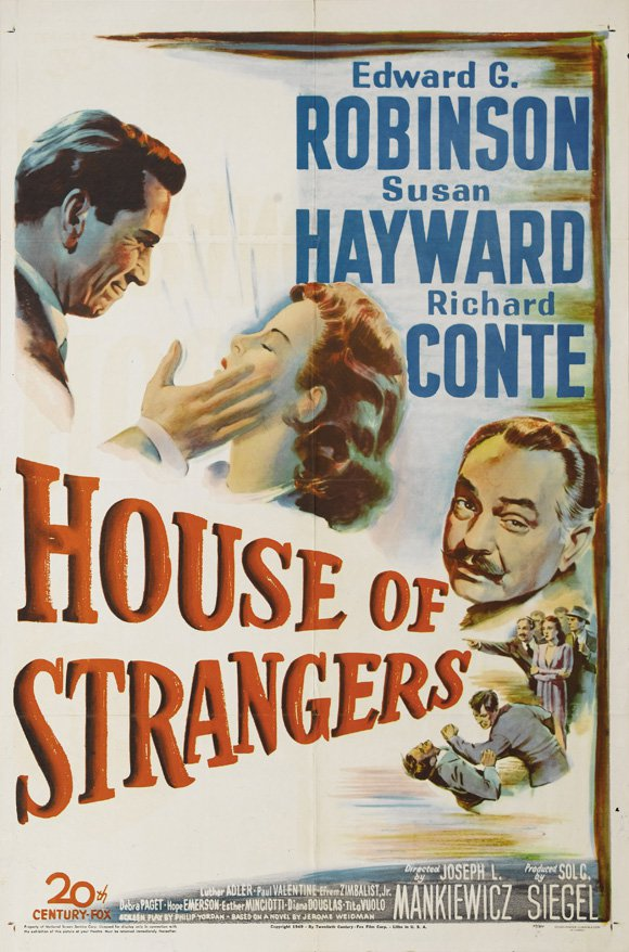 House Of Strangers (1949) - Edward G. Robinson  DVD