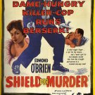 Shield For Murder (1954) - John Agar  DVD