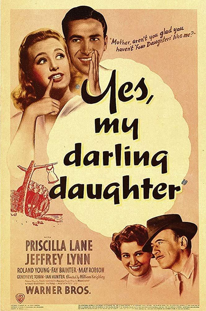 Yes, My Darling Daughter (1939) - Priscilla Lane  DVD
