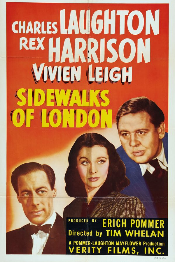 St. Martin´s Lane AKA The Sidewalks Of London (1938) - Charles Laughton   DVD