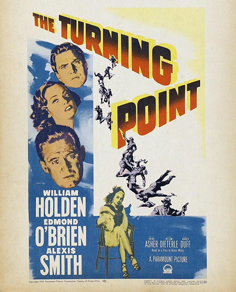 The Turning Point (1952) - William Holden  DVD