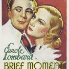 Brief Moment (1933) - Carole Lombard  DVD