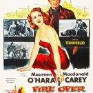 Malaga AKA Fire Over Africa (1954) - Maureen O´Hara  DVD