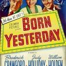 Born Yesterday (1950) - William Holden  DVD