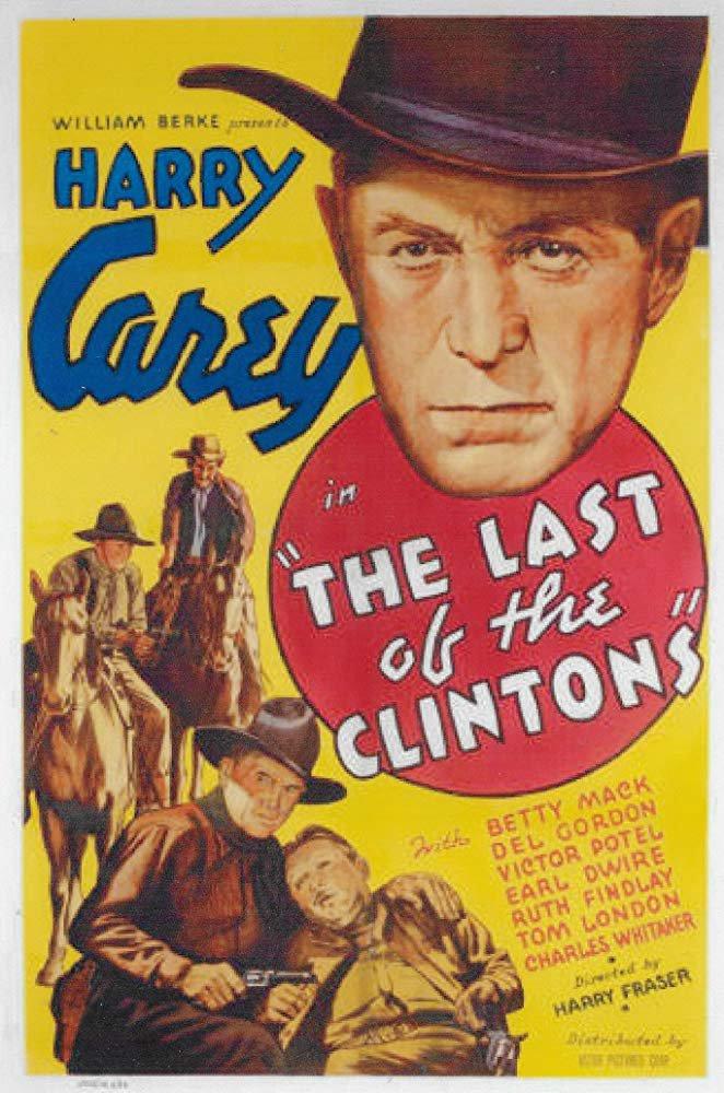 Last Of The Clintons (1935) - Harry Carey  DVD