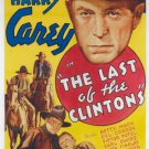 Last Of The Clintons (1935) - Harry Carey  DVD