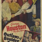 Outlaws Of Boulder Pass (1942) - George Houston  DVD