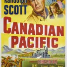 Canadian Pacific (1949) - Randolph Scott  DVD