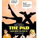 The Pad And How To Use It (1966) - Brian Bedford  DVD