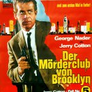 Jerry Cotton : The Murderers Club Of Brooklyn (1967) - George Nader  DVD
