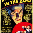 Murders In The Zoo (1933) - Lionel Atwill  DVD